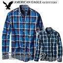 American Eagle AE men's casual shirt AE ARCHIVAL PLAID-SHIRT (2153 - 8,490) (S, M, L, XL, XL) shopping Marathon, cheap, sale, 50% or less,