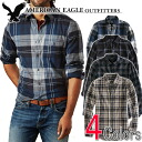 American eagle men banian AE EPIC FLANNEL SHIRT (four-colored )(2151-8689)(S,M,L,XL), American casual, shirt, long sleeves, men's vintage, flannel shirt (men's ,%off, new work are deep-discount and challenge the at half price following, sale ,SALE, low!))