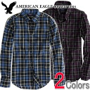 American eagle men banian AE EPIC FLANNEL SHIRT (two colors of )(2151-8754)(S,M,L,XL), American casual, shirt, long sleeves, men's vintage, flannel shirt (men's new work, American casual))