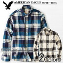 American eagle men banian AE EPIC FLANNEL SHIRT (15 colors of )(S,M,L,XL), American casual, shirt, long sleeves, men's vintage, 100% of flannel shirt (genuine articles, regular article, shop buying, men's big size, new work, American casual))