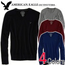 Rakuten Japan sales, Japan's Memorial セールアメリカンイーグル men's sweater AE V-NECK SWEATER 4 colors (0512-9743) (S, M, L, XL)