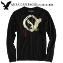 American eagle men Ron T AE SIGNATURE LONG SLEEVE T-SHIRT black (0518-3784)(S,M,L,XL)( men, a new work are deep-discount and challenge sale ,SALE, low! American casual of popularity, brand)