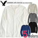 American eagle men henley neck Ron T AE LEGEND LONG SLEEVE HENLEY (four colors) (4171-7605)(S,M,L,XL,XXL)( big size, men's big size, new work, American casual)
