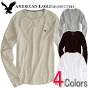 American eagle men thermal Ron T AE MERRY MAKER THERMAL (four colors) (2171-7608)(S,M,L,XL,XXL)( big size, men's big size, new work, American casual)