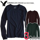 American eagle men thermal Ron T AE Legend Long Sleeve T-Shirt (three colors) (2171-7541)(S,M,L,XL,XXL)( big size, men's big size, new work, American casual)