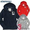 87 three colors of aeroPOS tail men's full zip parka NYC FULL-ZIP HOODIE (9087)(S,M,L,XL)(100 % genuine articles, regular article, shop buying, men's big size, new work, American casual)