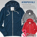 ★ 2014 new fall! Aeropostale mens parka Solid Full-Zip Hoodie color (4524) (S, M, L, XL) (same day shipping,, 100% real, genuine, retail store purchases, men, large size, new, casual, Parker)