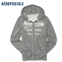 ★ 2014 new fall! Aeropostale mens parka Aero Full-Zip Hoodie Heather grey (4529) (S, M, L, XL) (over 10,800 yen, who, in large size, 100% genuine, new, cheapest Rakuten to challenge! )
