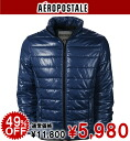 AeroPOS tail men batting jacket SOLID PUFFER JACKET navy knight (0734)(S,M,L,XL)( men, a new work are deep-discount and challenge sale ,SALE, low;)!