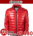 Rakuten champions sale, classic win Memorial セールエアロポス tail men's cotton jacket SOLID PUFFER JACKET red (0734) (S, M, L, XL)