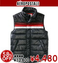 AeroPOS tail men batting best PIECED PUFFER VEST storm (9939)(S,M,L,XL)( same day shipment, 100% genuine article, regular article, shop buying, men's big size, new work, American casual)
