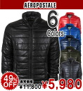 Rakuten champions sale, victory Memorial セールエアロポス tail mens cotton jacket SOLID PUFFER JACKET (6 colors) (0734) (S, M, L, XL)