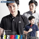 A 2014 new work! Classic one point! 15 colors of AEROPOSTALE/ aeroPOS tail men short sleeves polo shirt A87 Pique Polo (S,M,L,XL)( same day shipment, 100% genuine article, regular article, shop buying, men's big size, new work, American casual)