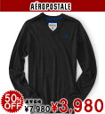 AeroPOS tail men sweater A87 SOLID V-NECK SWEATER charcoal Heather gray (8461)S,M,L,XL)( men, a new work are deep-discount and challenge sale ,SALE, low! American casual of popularity, brand)