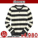 AeroPOS tail men Ron T LONG SLEEVE BAR STRIPE CREW SWEATSHIRT gray lane (9007)(S,M,L,XL)( men ,%off, new work is deep-discount and is less than half price and challenges sale ,SALE, low;)!