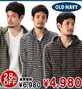 Rakuten champions sale, victory Memorial セールオールドネイビー OLD NAVY Men's Thin-Stripe Zip Hoodies (3 colors) (117962052) (S, M, L, XL)