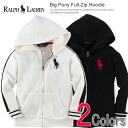 Polo Ralph Lauren Boys parka Big Pony Full-Zip Hoodie (two colors) (POLO RALPH LAUREN)(23172386)(S,M,L,XL)( men, a new work are deep-discount and challenge sale ,SALE, low! American casual of popularity, brand)