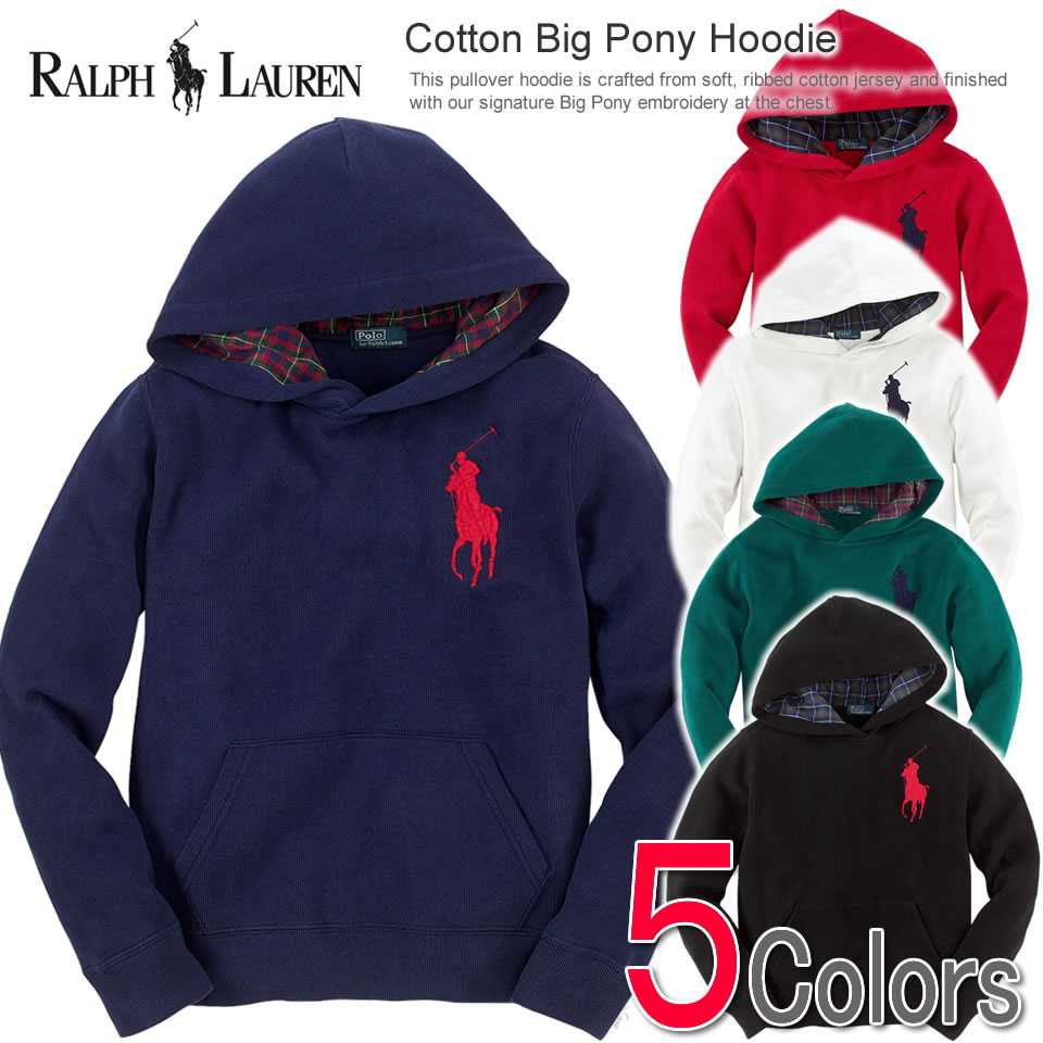 Ralph Lauren Pony Blue Polo Hoodies Men Jacket