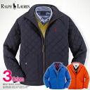 ★! Same day shipping! ★ Polo Ralph Lauren boys cotton Quilted Jacket NEW FISHER JACKET 3 colors (POLO RALPH LAUREN) (52138476) (S, M, L, XL) (challenging new work, men, large size, more than 10,800 yen, Rakuten lows! 100% real! , Genuine)