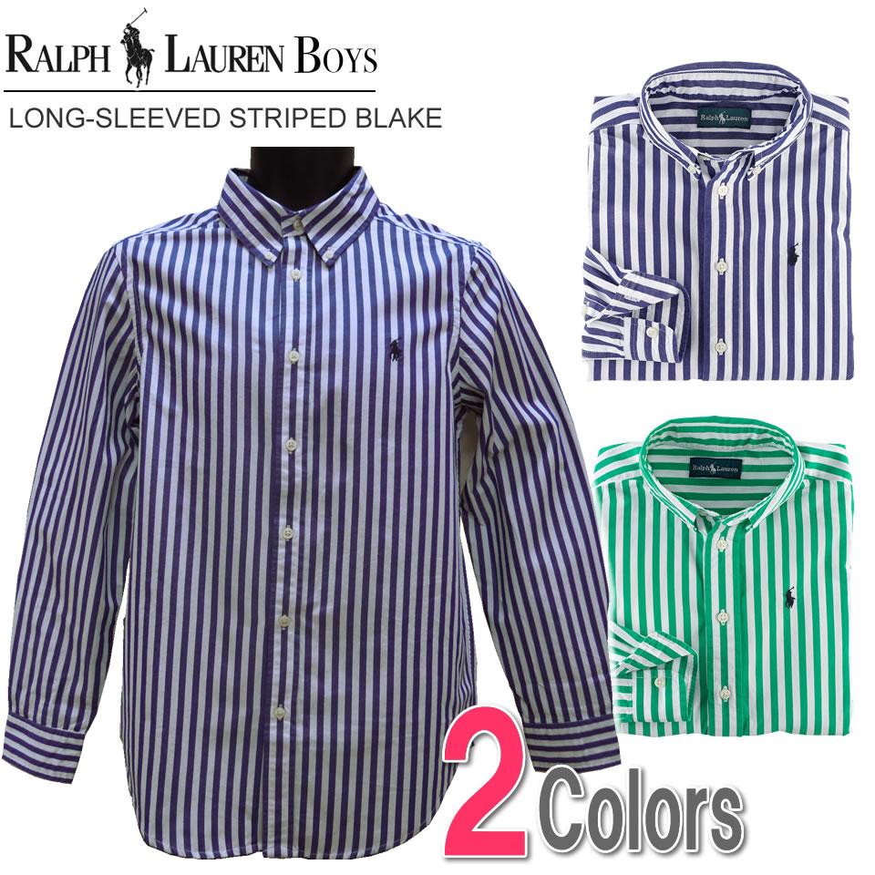 Polo Shirt Colors >> shushubiz   Rakuten Global Market: Two colors of polo Ralph Lauren Boys long sleeves casual ...