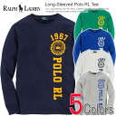 Four colors of polo Ralph Lauren Boys Ron T Long-Sleeved Polo RL Tee (POLO RALPH LAUREN)(21588936)(S,M,L,XL)( men, new work are deep-discount and challenge sale ,SALE, low! American casual of popularity, brand)