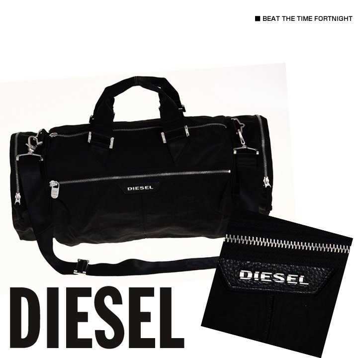 Rakuten: Diesel men bag BEAT THE TIME FORTNIGHT black (00XS35 PS136)(ONE ...