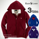 ★ 2014 new fall! Polo Ralph Lauren boys Hoodie Cotton Fleece Full-Zip Hoodie (3 colors) (POLO RALPH LAUREN) (37716986) (S, M, L, XL) (same day shipping,, 100% real, genuine, retail store purchases, men, large size, new, casual)