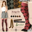 Argyle pattern knee high sox[23-25cm]argyle knee high sox diamond pattern diamond over knee knee high argyle pattern socks socks cotton blend ニーソ