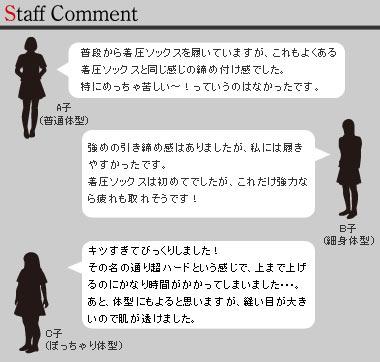スタッフコメント