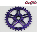 PROFILE RACING profile racing bicycle pist bike sprocket SPLINE DRIVE SPROCKET 30T: PURPLE