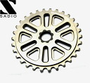 SADIO MOLAR SPROCKET bicycle sprocket : GUNMETAL