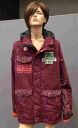IH472OT03 DOT BOA JACKET/BO (Bordeaux) 2014 / 2015 NEW INHABITANT inhabitant dot BOA jacket / 9 delivery appointment: early booking!