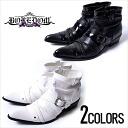 """BOREDOM クロスベルトショートド draping boots / 2 colors"""