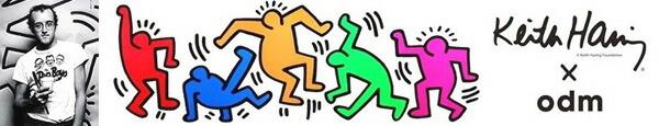 DD134 �����ǥ������� odm+ Keith Haring �������إ�� �����