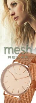 RELAX リラックス メッシュ/mesh レディース腕時計 メンズ腕時計