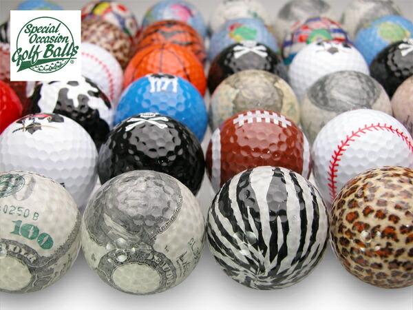 おもしろデザインゴルフボール【special
