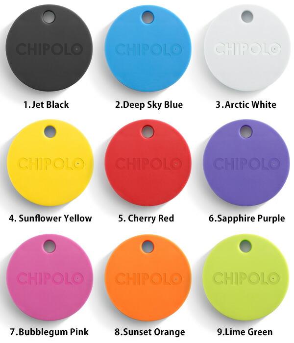 Chipolo Bluetoothロケーター スマートフォン 追跡 アプリ キーホルダー