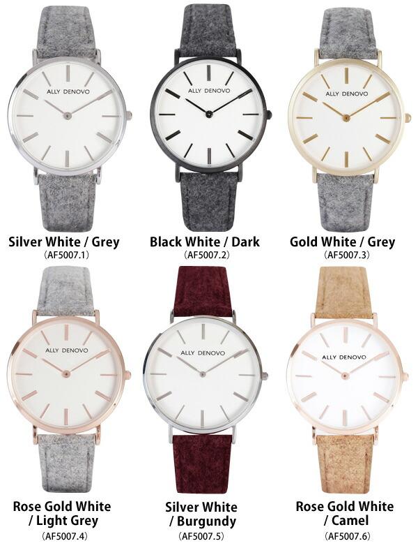 ALLY DENOVO  腕時計 Classic St. Gallen 36mm メンズ レディース