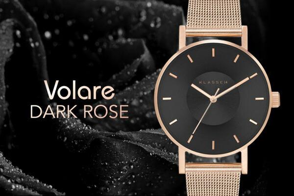 VOLARE DARKROSE メッシュ 36mm 42mm レディース メンズ腕時計