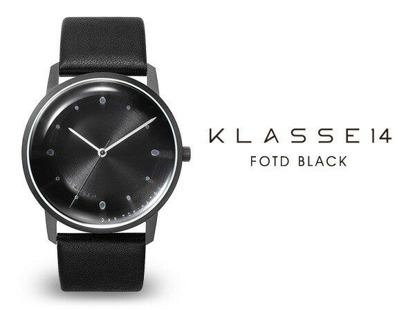 KLASSE14/クラス14 FOTD 腕時計