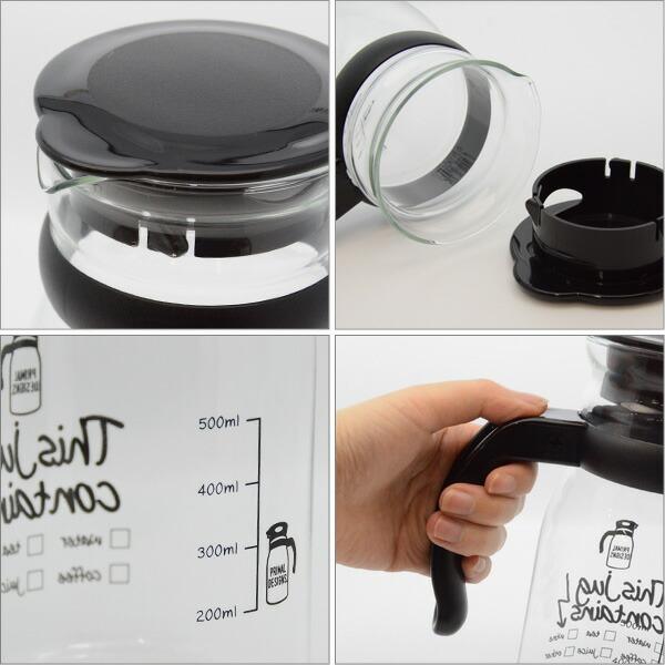 Primal designs 耐熱ガラスジャグ glass jug 800ml ピッチャー