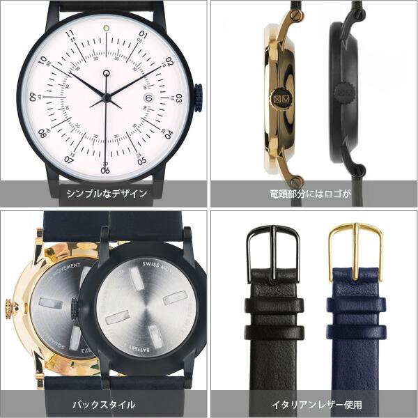 SQUARESTREET SQ38  PLANO 腕時計 メンズ