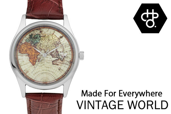 CHEAPO チーポ スウェーデン 北欧 人気 腕時計 Vintage World