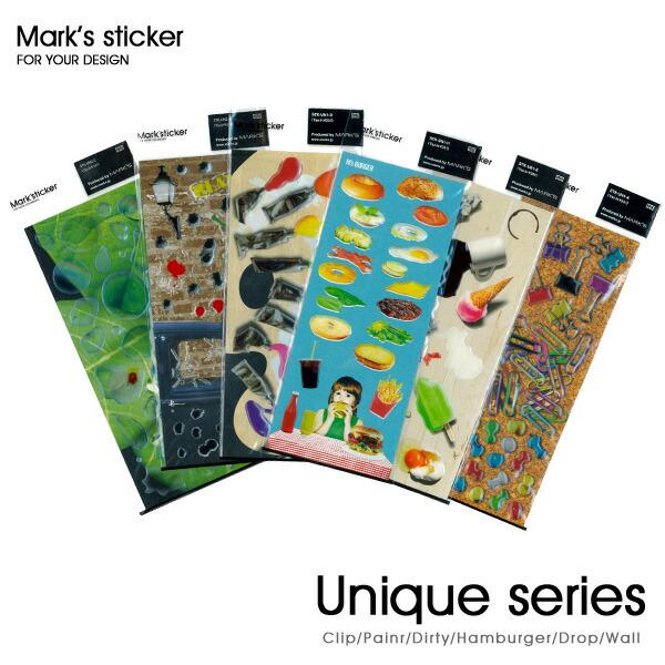 ユニークステッカー/Mark'sticker(マークステッカー)