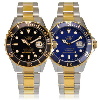 【送料無料】LTD watch【リミテッドウォッチ】 COMBI STAINLESS STEEL/コンビステンレス メンズ腕時計