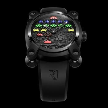ロマン・ジェローム/Romain Jerome SPACE INVADERS/スペースインベーダー メンズ腕時計【送料無料】