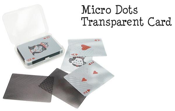 透明トランプ