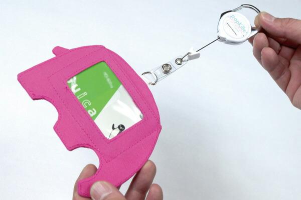 popkiller(ポップキラー) CREATURE PASS CASE/ クリーチャーパスケース