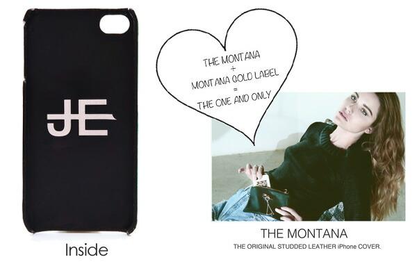 iphone5 ケース スマホケース 【Jagger Edge/ジャガーエッジ:正規品】THE MONTANA モンタナ スタッズレザーケース iphoneカバー 輸入品