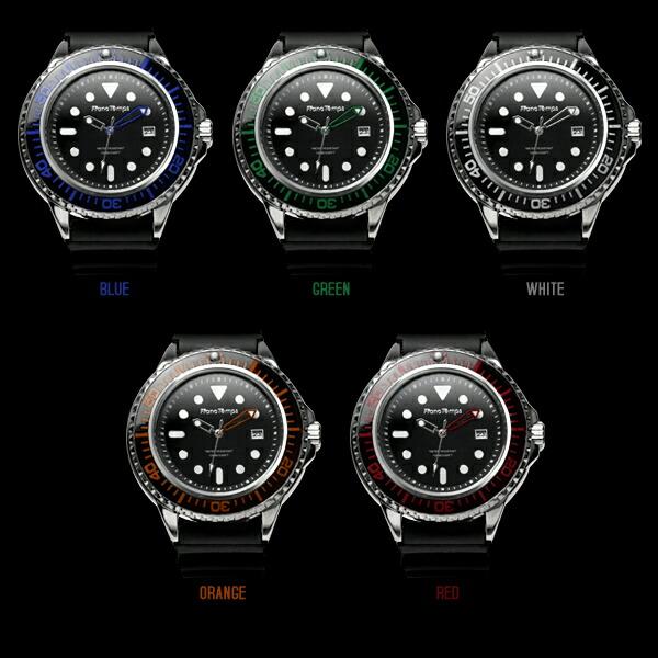 Franc Temps/フランテンプス Plongeur/プロンジュール メンズ腕時計